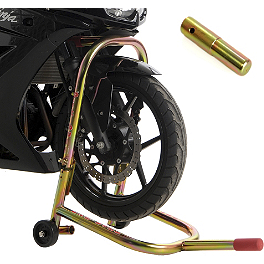 Pit Bull Hybrid Headlift Stand With Pin - 2012 Triumph Street Triple Pit Bull Hybrid Dual Lift Front Stand With Pin