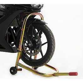 Pit Bull Hybrid Headlift Stand - 1999 Honda VTR1000 - Super Hawk Pit Bull Hybrid Dual Lift Front Stand With Pin