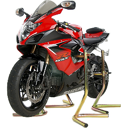 Pit Bull Jack Stands - 2008 Aprilia Tuono 1000 R Pit Bull Hybrid Headlift Stand With Pin