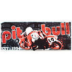 Pit Bull Metal Sign - Motorcycle Collectibles