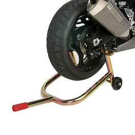 Pit Bull Spooled Rear Stand - 2007 Buell Lightning - XB9R Pit Bull Hybrid Headlift Stand With Pin
