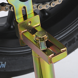 Pit Bull Thumb Adjuster - 1994 Kawasaki ZX750 - Ninja ZX-7R Pit Bull Hybrid Headlift Stand With Pin