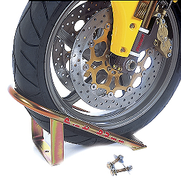Pit Bull Wheel Chock - Removable Wheel Chock Chrome