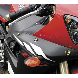 Pro-Bolt D-Ring Quick Release Fasteners With Slide On Backing Plates - 1991 Suzuki GSX600F - Katana Pro-Bolt Fairing Kit