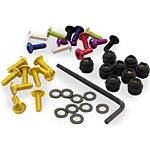 Pro-Bolt Aluminum Ducati Windscreen Screw Kit - 4mm -  Motorcycle Windscreens and Accessories