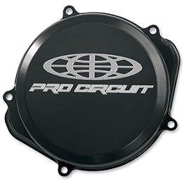 Pro Circuit Clutch Cover - 2002 Honda CR250 Boyesen Clutch Cover - Black