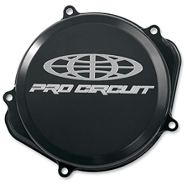Pro Circuit Clutch Cover - 2008 Honda CRF250R Boyesen Clutch Cover - Black