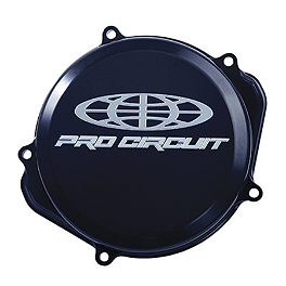 Pro Circuit Clutch Cover - 2011 Kawasaki KX250F Pro Circuit Ti-5 Complete Exhaust With Carbon End Cap