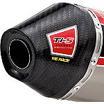 Pro Circuit Ti-5 Carbon End Cap - Dirt Bike 4-Stroke Exhausts