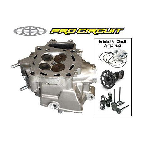 Pro Circuit Stage 2 Modified Cylinder Head - Main