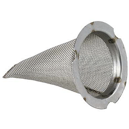 Pro Circuit Spark Arrestor Screen - 2007 Polaris SPORTSMAN 90 Pro Circuit Stainless Steel New End Cap - 4.0
