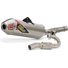Pro Circuit T-5 Complete Exhaust - Pro Circuit Ti-5 Complete Dual Exhaust with Carbon End Cap