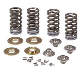 Pro Circuit Complete Valve Spring Kit - 2011 Kawasaki KX250F Pro Circuit Ti-5 Complete Exhaust With Carbon End Cap