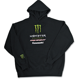 Pro Circuit Team Monster Energy Hoody - FOX MONSTER RICKY CARMICHAEL REPLICA RC4 ZIP FLEECE HOODY