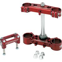 Pro Circuit Clamp Set - 22mm Offset - Red