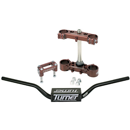 Pro Circuit Clamp Set 22mm Offset With Turner Oversized Handlebar Combo - Main
