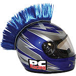 PC Racing Helmet Mohawk -  Motorcycle Helmet Accessories