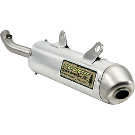 Pro Circuit Spark Arrestor Silencer - 1996 Kawasaki KX500 Pro Circuit Pipe And Silencer Combo