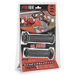 Pro Grip Lock On 700 Grip - Black/Grey - Pro Grip Dirt Bike Hand Controls