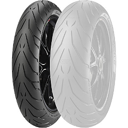 Pirelli Angel GT Front Tire - 120/60ZR17 - Pirelli Diablo Rosso 2 Rear Tire - 240/45ZR17