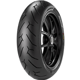 Pirelli Diablo Rosso 2 Rear Tire - 160/60ZR17 - Pirelli Scorpion Trail Front Tire - 90/90-21V