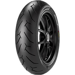 Pirelli Diablo Rosso 2 Rear Tire - 140/60R17 - Pirelli Angel Front Tire - 120/70ZR17