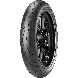 Pirelli Diablo Rosso 2 Front Tire - 120/70ZR17 D-Spec - Pirelli Scorpion Trail Rear Tire - 180/55ZR17V