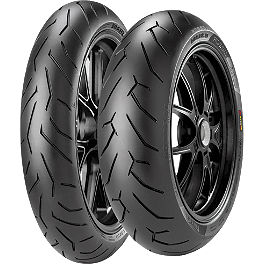 Pirelli Diablo Rosso 2 Tire Combo - Pirelli Angel GT Rear Tire - 170/60ZR17