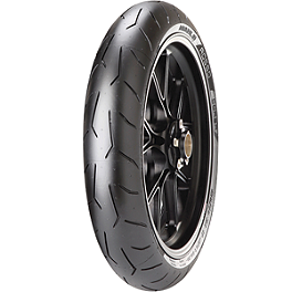 Pirelli Diablo Rosso Corsa Front Tire - 120/70ZR17 - Pirelli Diablo Supersport Rear Tire - 160/60ZR17