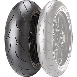 Pirelli Diablo Rosso Corsa Rear Tire - 160/60ZR17 - Two Brothers Juice Box Single Exhaust