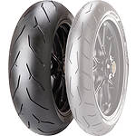 Pirelli Diablo Rosso Corsa Rear Tire - 180/55ZR17 - Pirelli 180 / 55R17 Motorcycle Tire and Wheels