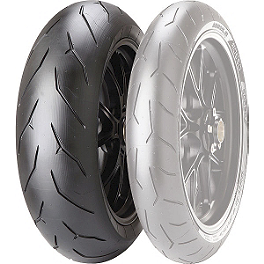 Pirelli Diablo Rosso Corsa Rear Tire - 200/55ZR17 - Pirelli Scorpion Trail Rear Tire - 180/55ZR17V
