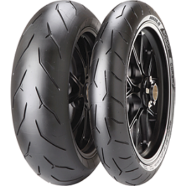 Pirelli Diablo Rosso Corsa Tire Combo - Michelin Power Pure Tire Combo