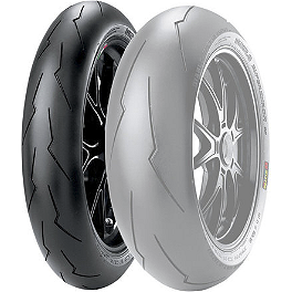 Pirelli Diablo Supercorsa SP V2 Front Tire - 120/70ZR17 - Pirelli Scorpion Trail Front Tire - 100/90-19H
