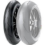 Pirelli Diablo Supercorsa SP V2 Front Tire - 120/70ZR17 - Pirelli 120 / 70R17 Motorcycle Tire and Wheels