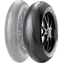 Pirelli Diablo Supercorsa SP V2 Rear Tire - 200/55ZR17 - Pirelli Scorpion Trail Front Tire - 120/70R-17
