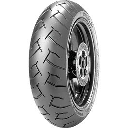 Pirelli Diablo Supersport Rear Tire - 160/60ZR17 - Jardine GP-1 Stainless Steel Slip-On Exhaust - Polished