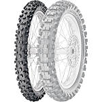 Pirelli Scorpion MX Extra J Front Tire - 70/100-17 - Dirt Bike Front Tires