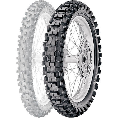 Pirelli Scorpion MX Extra J Rear Tire - 90/100-14 - Main
