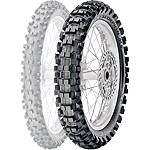 Pirelli Scorpion MX Extra J Rear Tire - 90/100-14 - 90~100-14--FEATURED-1 Dirt Bike Dirt Bike Parts