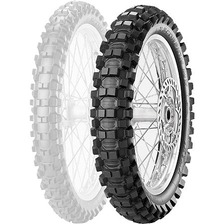 Pirelli Scorpion MX Extra X Rear Tire - 120/100-18 - Main