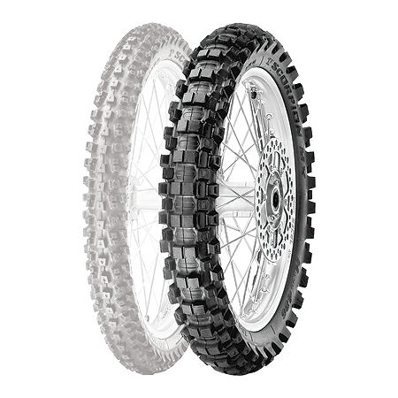 Pirelli Scorpion MX Hard 486 Rear Tire - 110/90-19 - Main