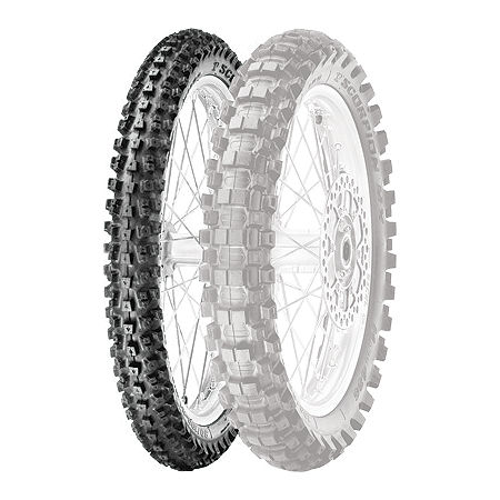 Pirelli Scorpion MX Hard 486 Front Tire - 90/100-21 - Main