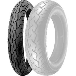 Pirelli MT66 Route Front Tire - 80/90-21H - BikeMaster Tube 2.25/2.50-18 Straight Metal Stem
