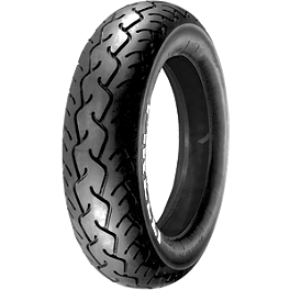 Pirelli MT66 Route Rear Tire - 140/90-15H - Bridgestone Tube 140/90-15 - 90-Degree Metal Stem
