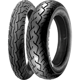 Pirelli MT66 Route Tire Combo - Pirelli Night Dragon Front Tire - 90/90-21
