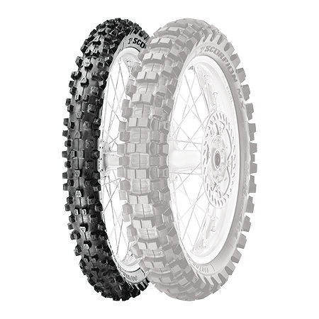 Pirelli Scorpion MX Mid Hard 454 Front Tire - 90/100-21 - Main