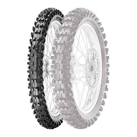 Pirelli Scorpion MX Mid Soft 32 Front Tire - 70/100-17 - Main