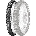 Pirelli Scorpion MX Mid Soft 32 Front Tire - 70/100-17 - Pirelli Dirt Bike Dirt Bike Parts