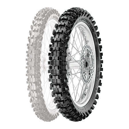 Pirelli Scorpion MX Mid Soft 32 Rear Tire - 90/100-14 - Main